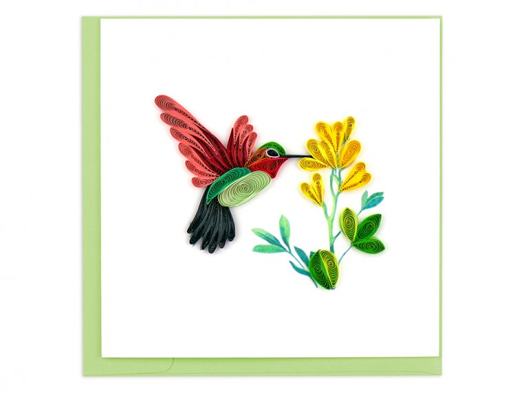 Handcrafted Quilled Card - Animals & Wildlife by Quilling Card - 4