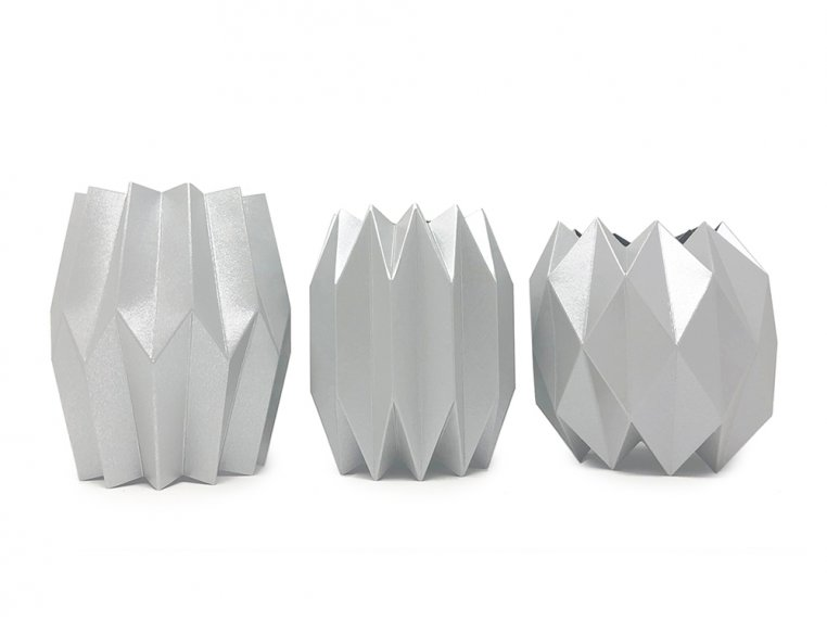 Paper Vase Wraps - Set of 3 by Lucy Grymes - 4