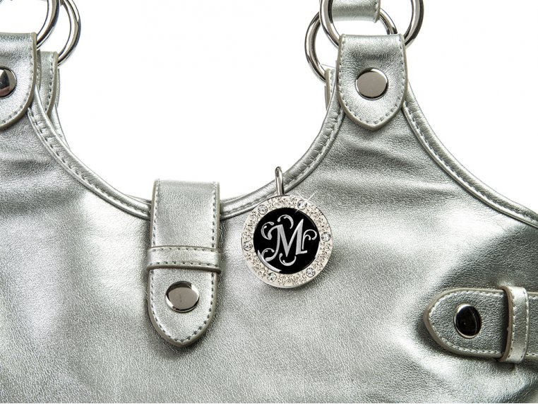 Key Purse Hanger with Monogram by Finders Key Purse® - 3