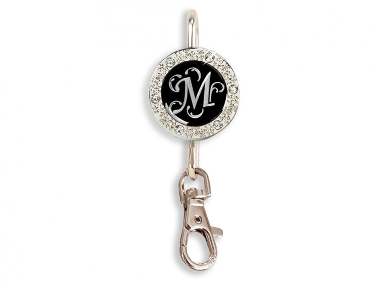 Key Purse Hanger with Monogram by Finders Key Purse® - 4