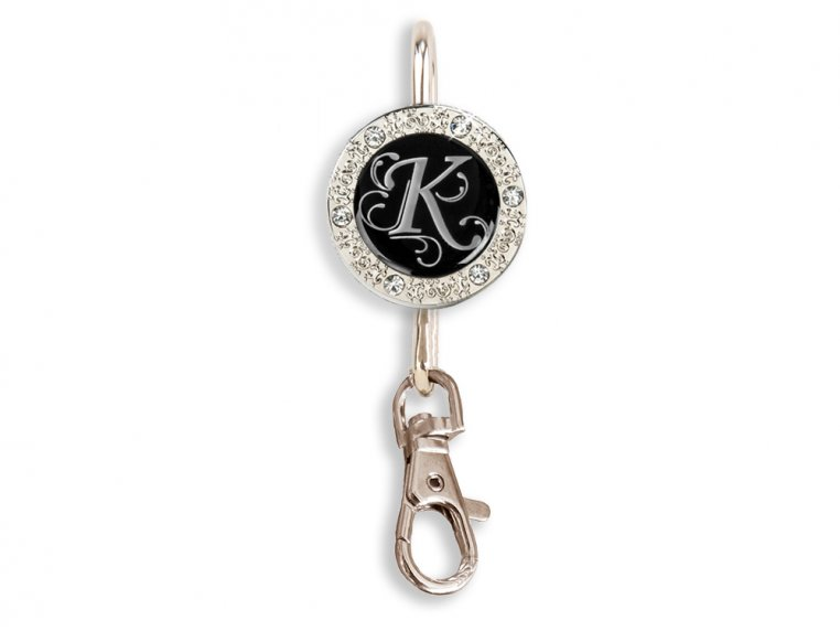 Key Purse Hanger with Monogram by Finders Key Purse® - 16