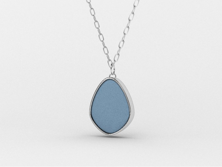 Sea Glass Pendant Necklace by Prism Sea Glass - 6