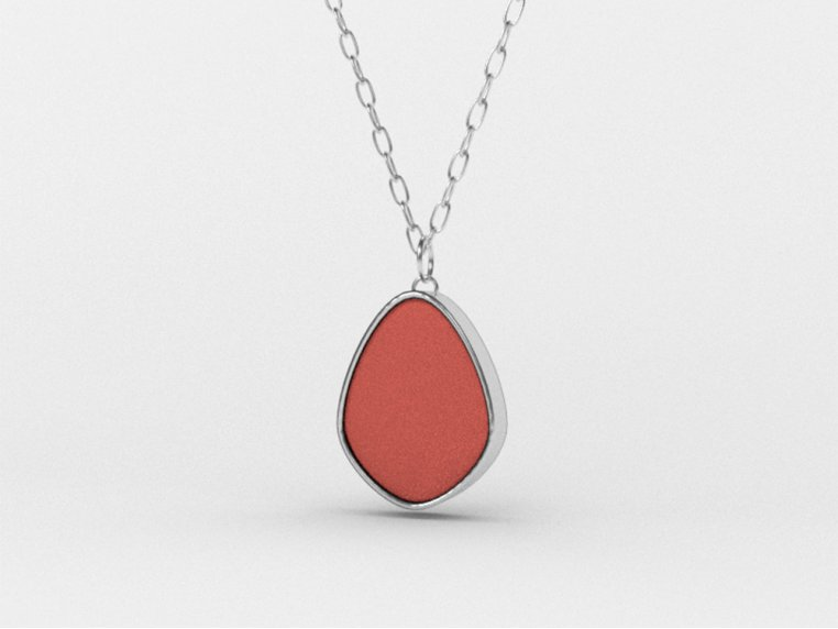 Sea Glass Pendant Necklace by Prism Sea Glass - 8