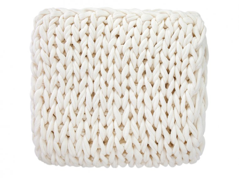 Chunky Knit Throw by Bedford Collections - 5
