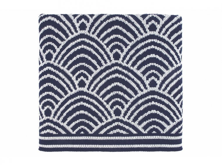 Deco Design Knit Throw by Bedford Collections - 1