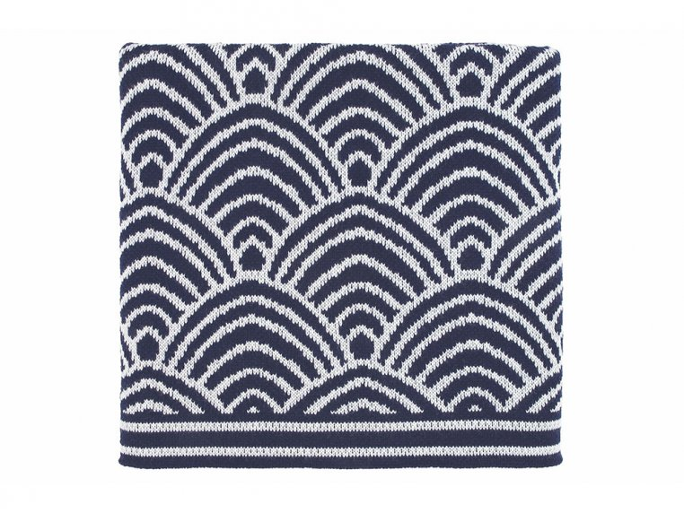 Deco Design Knit Throw by Bedford Collections - 4