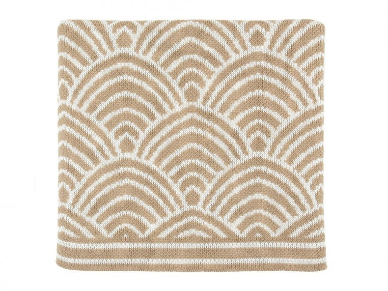 Deco Design Knit Throw by Bedford Collections - 5