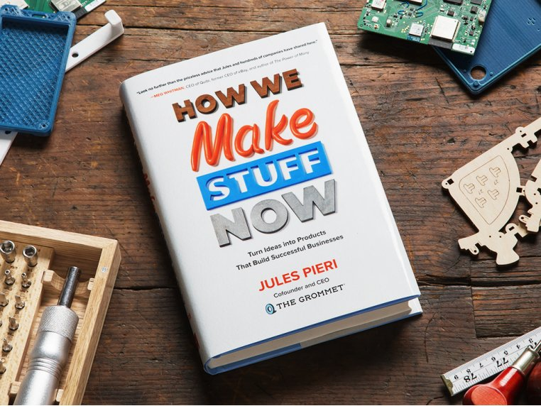 """How We Make Stuff Now"" Book by Jules Pieri - 1"