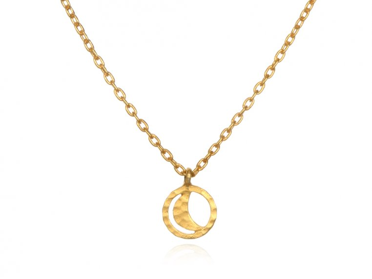 Spiritual Symbol Necklace - Moon by Satya Jewelry - 1