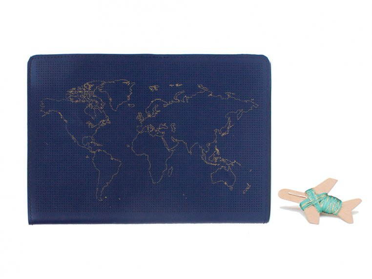 Stitch-Your-Travels Leather Notebook by Chasing Threads - 6