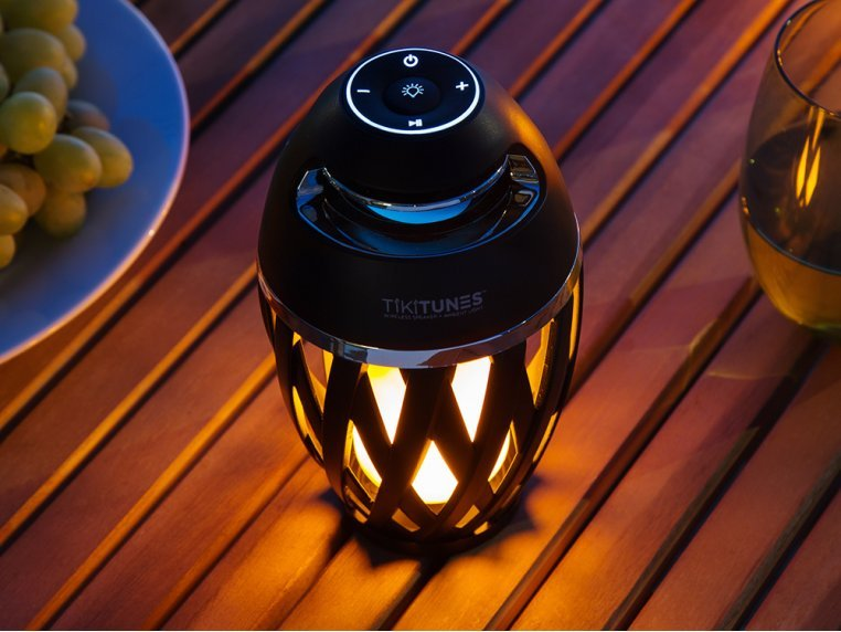 Ambient LED Outdoor Bluetooth Speaker by TikiTunes - 3