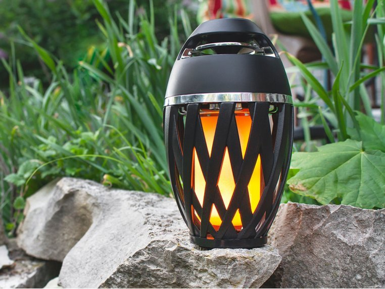 Ambient LED Outdoor Bluetooth Speaker by TikiTunes - 5