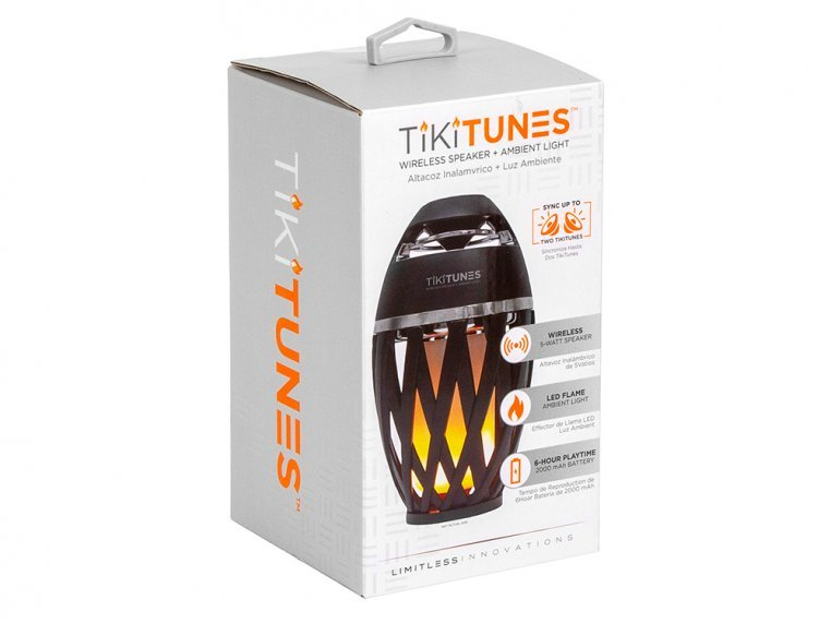 Ambient LED Outdoor Bluetooth Speaker by TikiTunes - 6