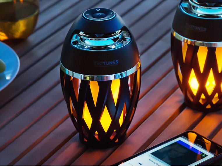 Ambient LED Outdoor Bluetooth Speaker by TikiTunes - 1