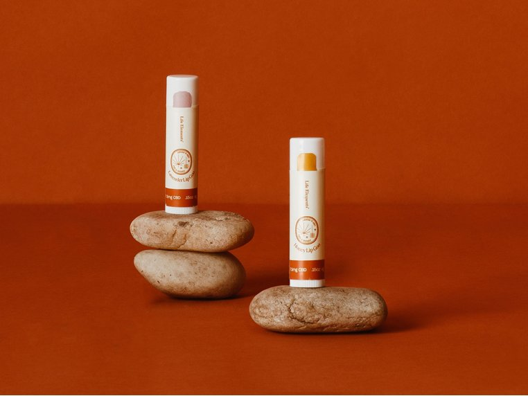 CBD Lip Balm - Set of 2 by Life Elements - 1