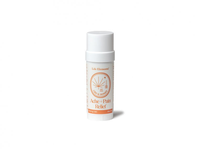 CBD Ache & Pain Relief Salve Stick Extra Strength by Life Elements - 5