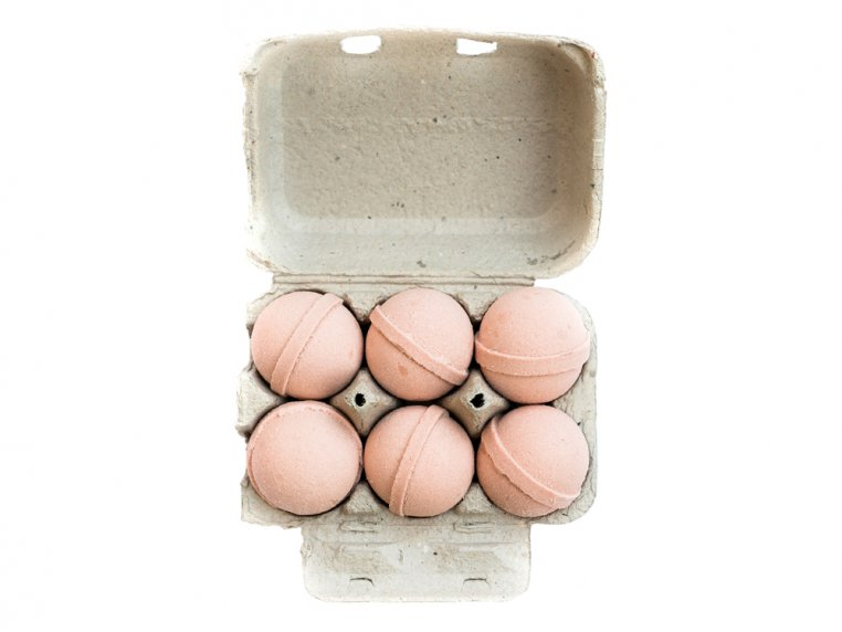 Mini Bath Bombs Egg Carton Gift Set by Level Naturals - 5