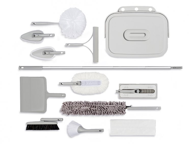 Minimalist Modular Home Cleaning Kit - Gray by Satto - 5