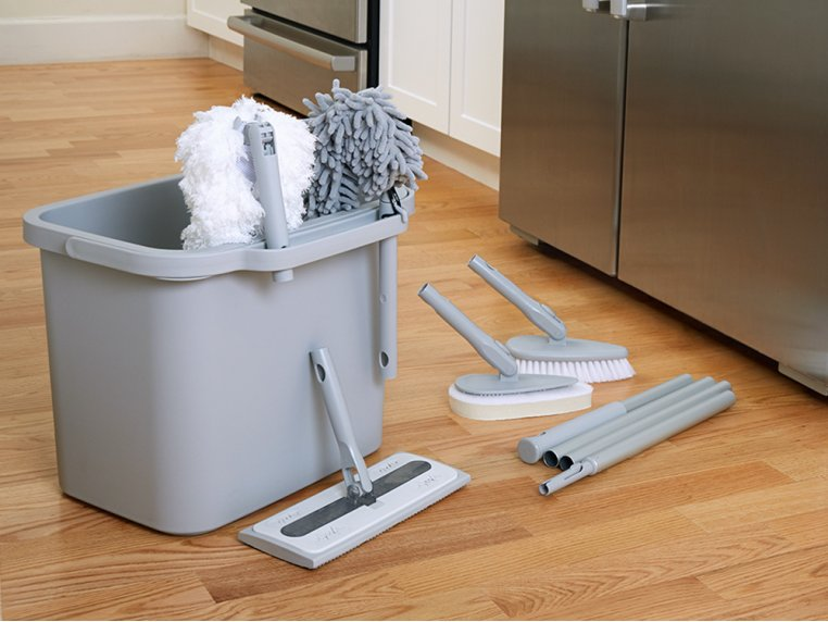 Minimalist Modular Home Cleaning Kit - Gray by Satto - 1