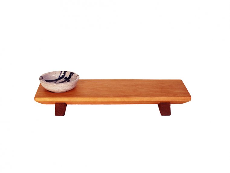 Sushi Serving Board & Soy Sauce Bowl by Sabbath-Day Woods - 4