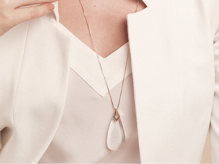 Amelia Monocle Necklace by Moderne Monocle - 1