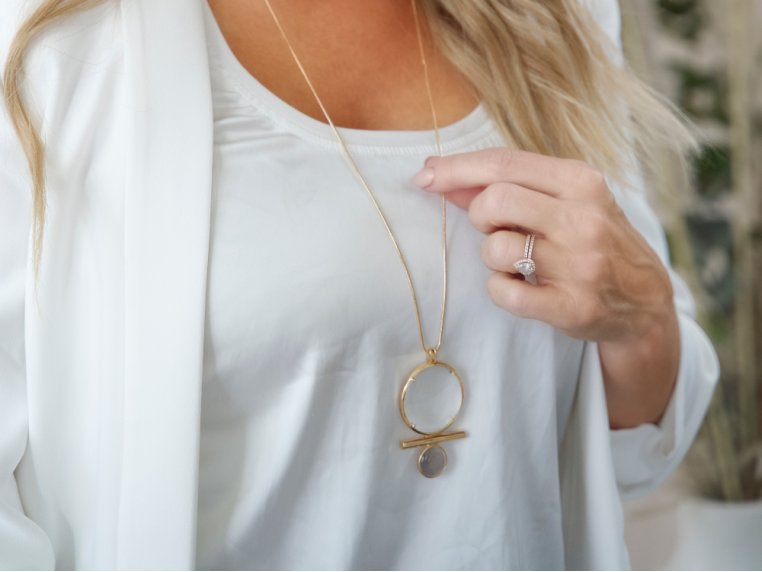 Luna Monocle Necklace by Moderne Monocle - 1