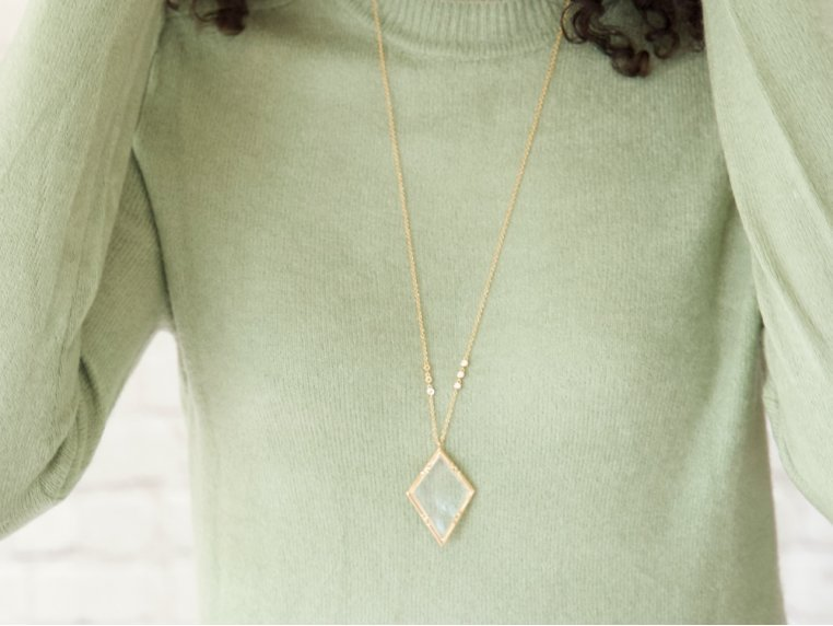Emmeline Monocle Necklace by Moderne Monocle - 1