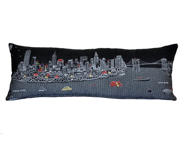 King Skyline Lumbar Pillow by Beyond Cushions - 2
