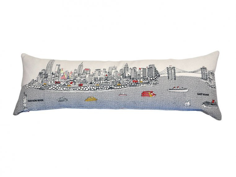 King Skyline Lumbar Pillow by Beyond Cushions - 3