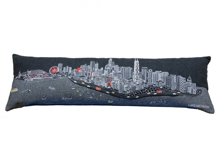 King Skyline Lumbar Pillow by Beyond Cushions - 4