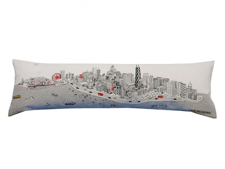 King Skyline Lumbar Pillow by Beyond Cushions - 5