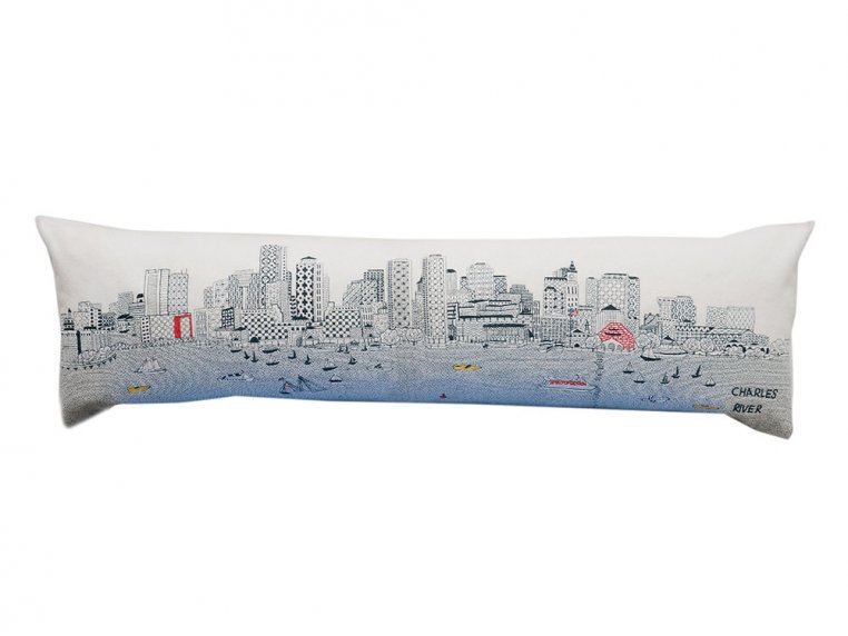 King Skyline Lumbar Pillow by Beyond Cushions - 7