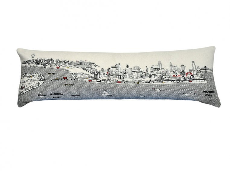 King Skyline Lumbar Pillow by Beyond Cushions - 9