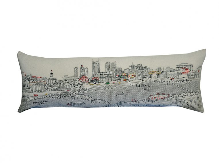 King Skyline Lumbar Pillow by Beyond Cushions - 13