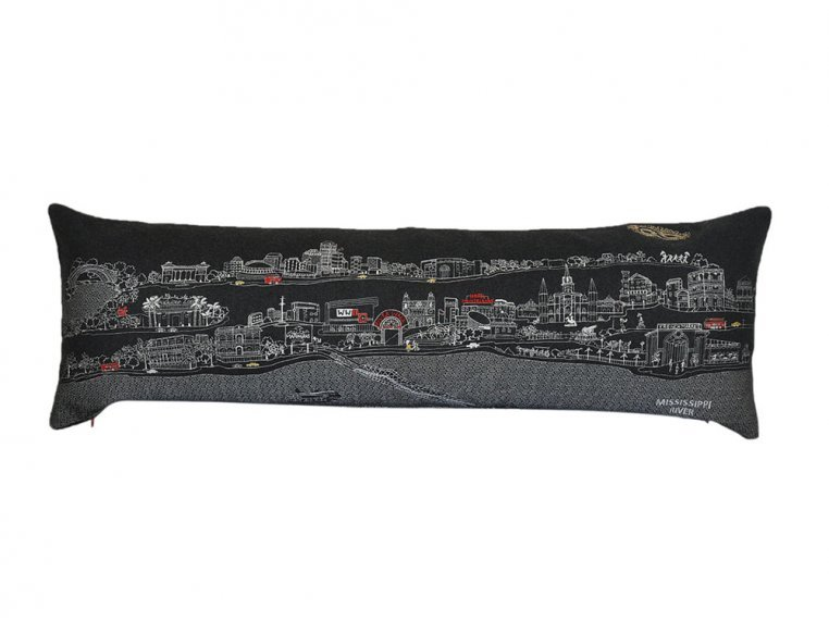 King Skyline Lumbar Pillow by Beyond Cushions - 14