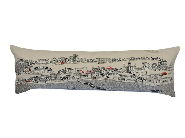 King Skyline Lumbar Pillow by Beyond Cushions - 15