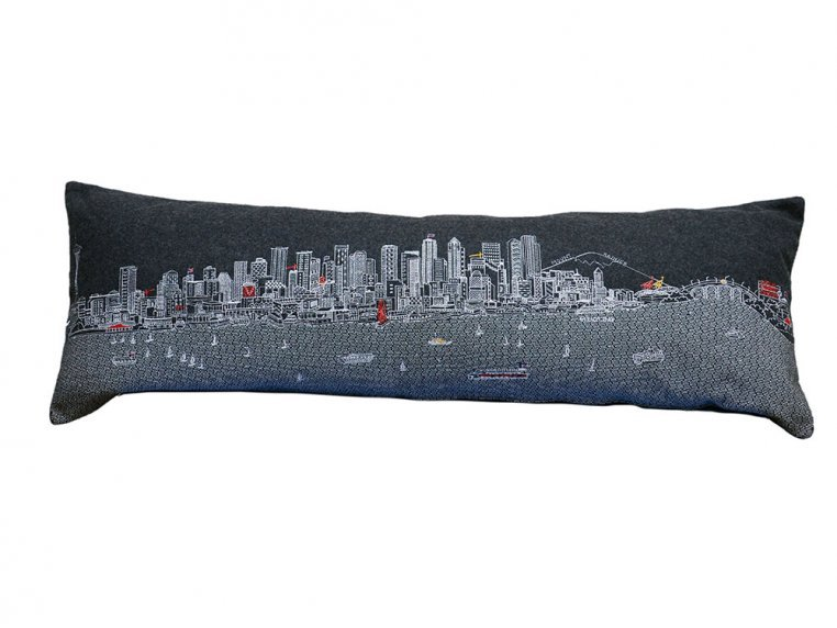 King Skyline Lumbar Pillow by Beyond Cushions - 18