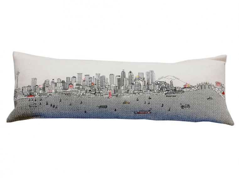 King Skyline Lumbar Pillow by Beyond Cushions - 19