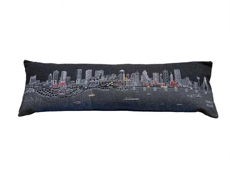 King Skyline Lumbar Pillow by Beyond Cushions - 30