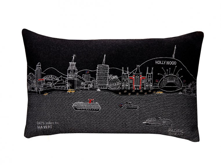 Prince Skyline Lumbar Pillow by Beyond Cushions - 9