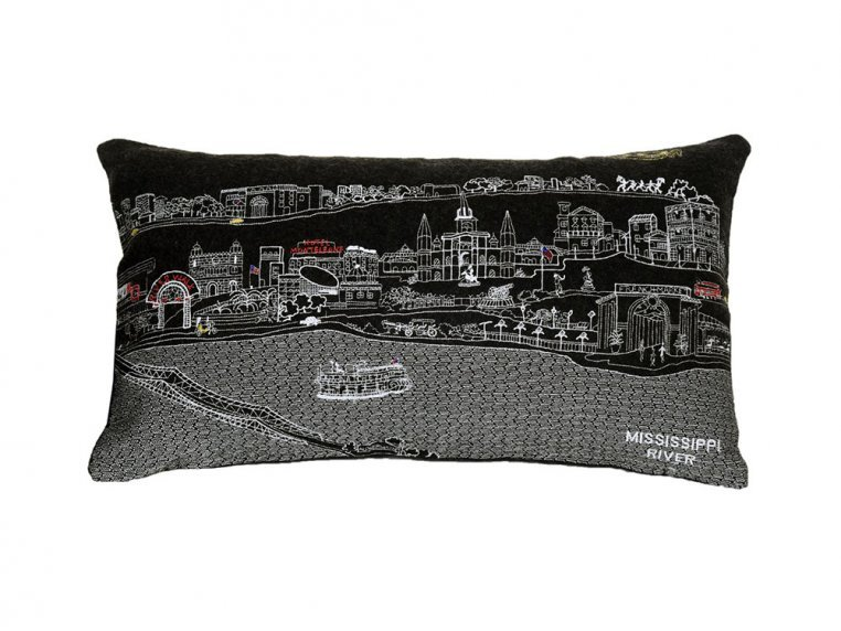 Prince Skyline Lumbar Pillow by Beyond Cushions - 10