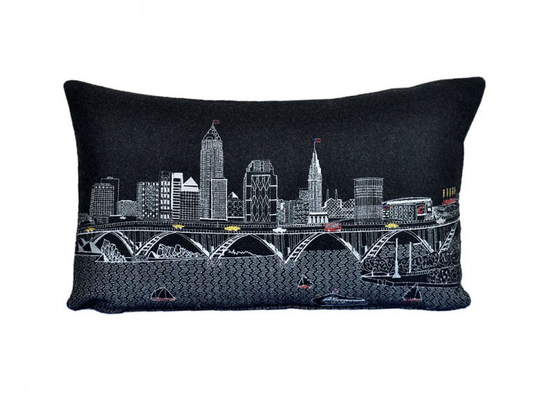 Prince Skyline Lumbar Pillow by Beyond Cushions - 11