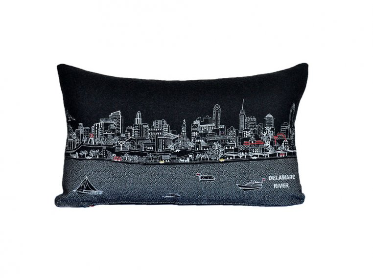 Prince Skyline Lumbar Pillow by Beyond Cushions - 43