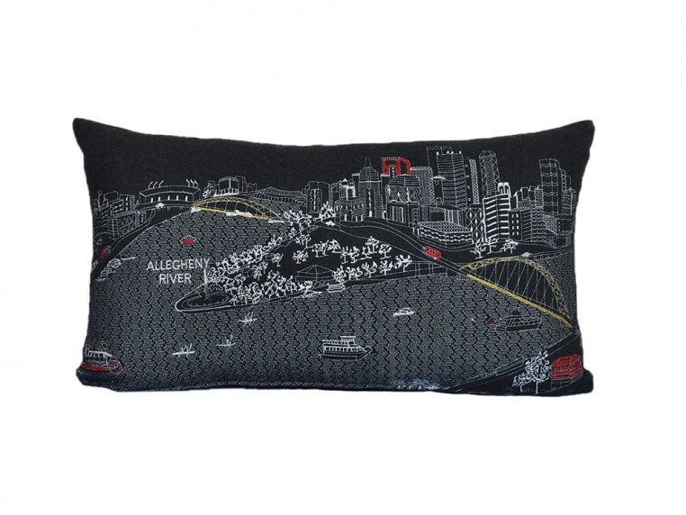 Prince Skyline Lumbar Pillow by Beyond Cushions - 12