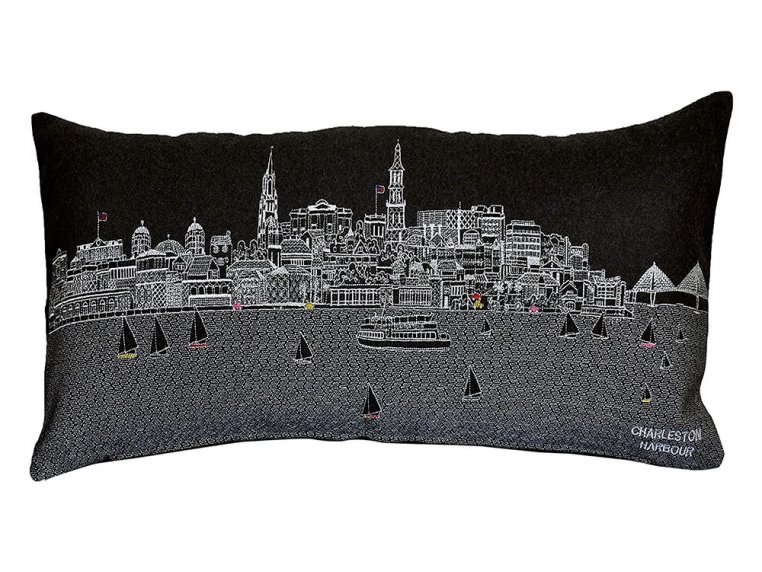 Prince Skyline Lumbar Pillow by Beyond Cushions - 13