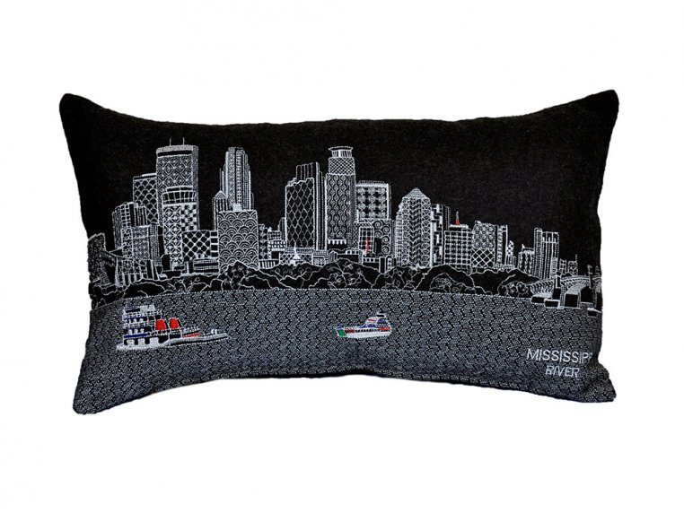 Prince Skyline Lumbar Pillow by Beyond Cushions - 14