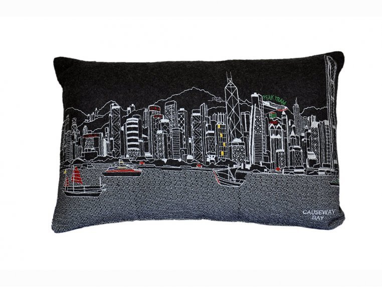 Prince Skyline Lumbar Pillow by Beyond Cushions - 16