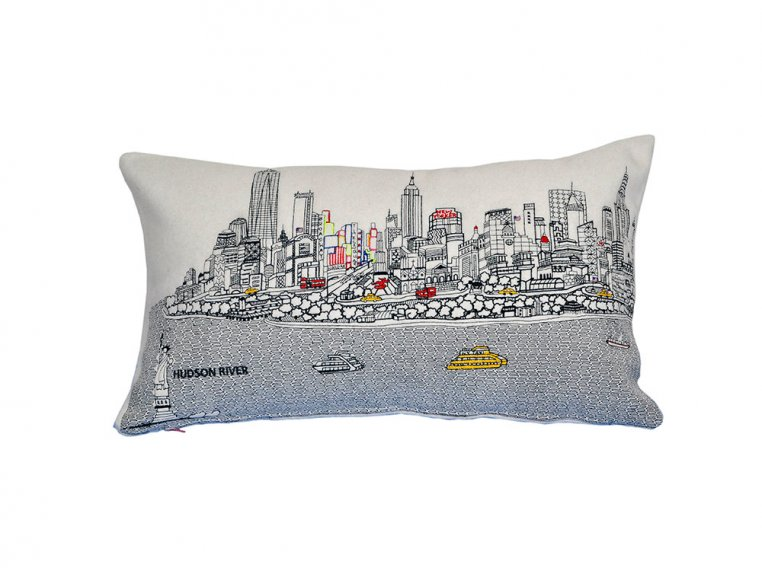Prince Skyline Lumbar Pillow by Beyond Cushions - 18