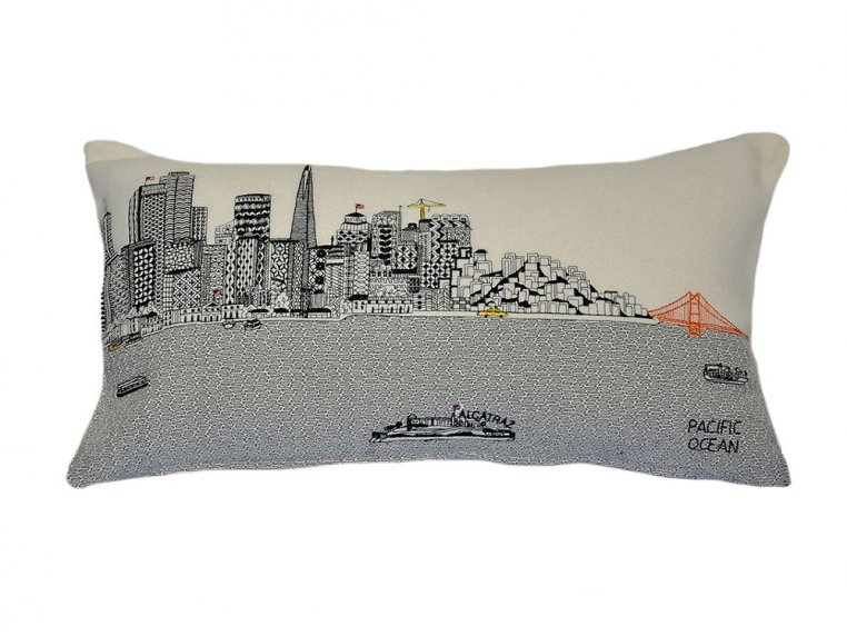 Prince Skyline Lumbar Pillow by Beyond Cushions - 19