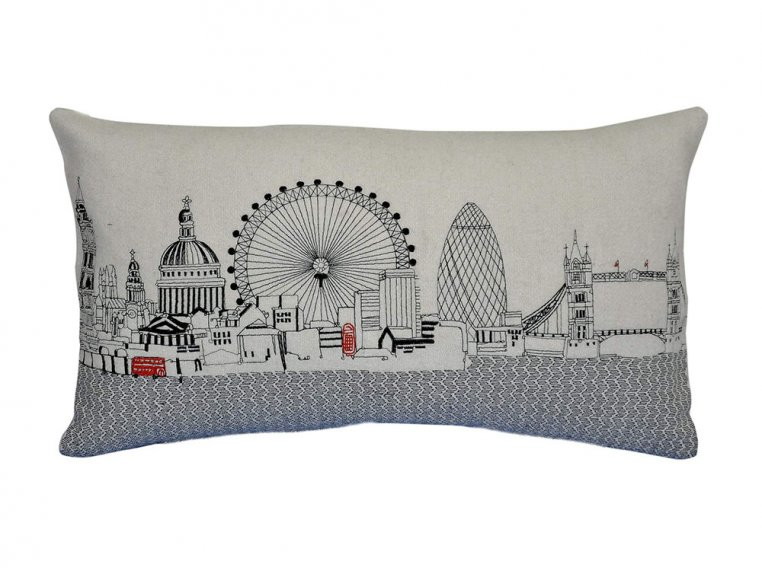 Prince Skyline Lumbar Pillow by Beyond Cushions - 20